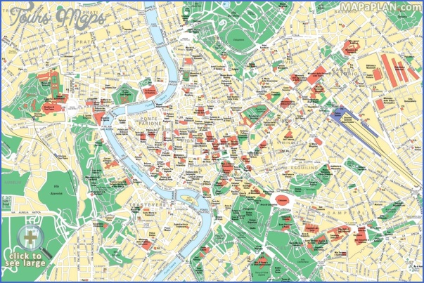 rome map tourist attractions 4 Rome Map Tourist Attractions
