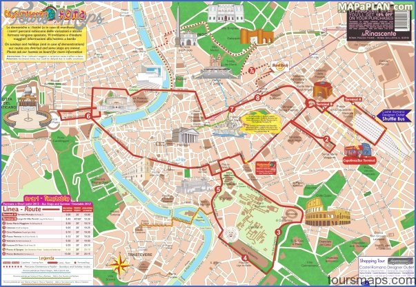 rome map tourist attractions 6 Rome Map Tourist Attractions