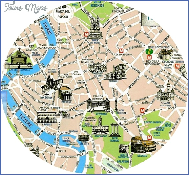 rome map tourist attractions 7 Rome Map Tourist Attractions
