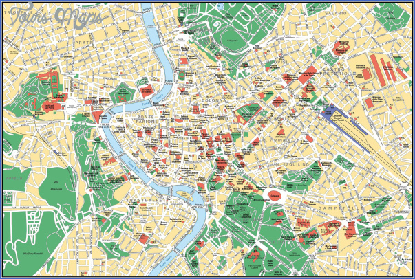 rome map 2 Rome Map