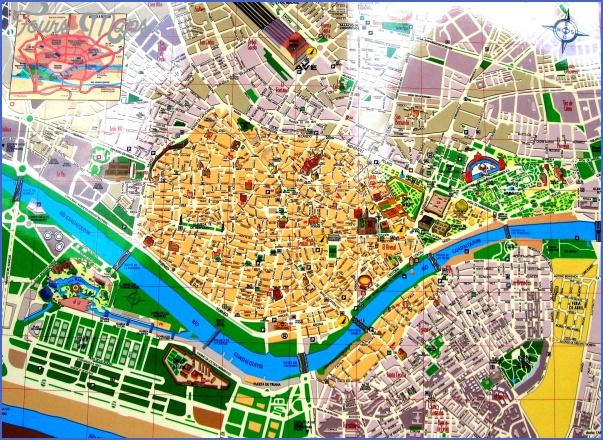 seville map 7 Seville Map