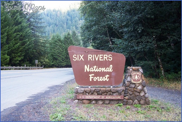 six rivers national fores map california 0 SIX RIVERS NATIONAL FORES MAP CALIFORNIA