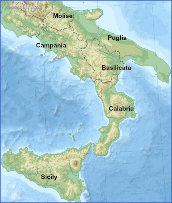 southern rome map 0 SOUTHERN ROME MAP
