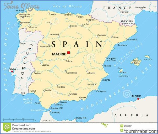 spain map 5 Spain Map