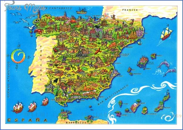 spain map 6 Spain Map