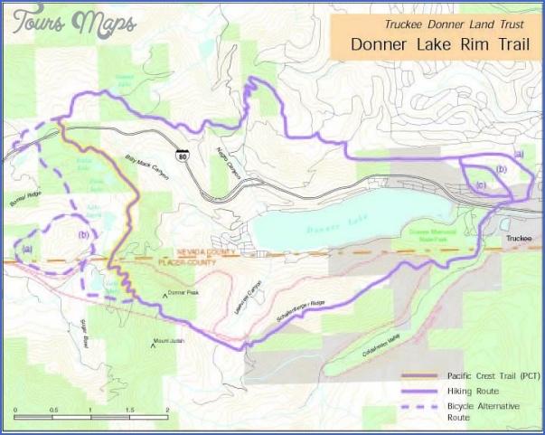 tahoe rim trail map california 20 TAHOE RIM TRAIL MAP CALIFORNIA