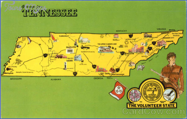 tennessee map tourist attractions 0 Tennessee Map Tourist Attractions