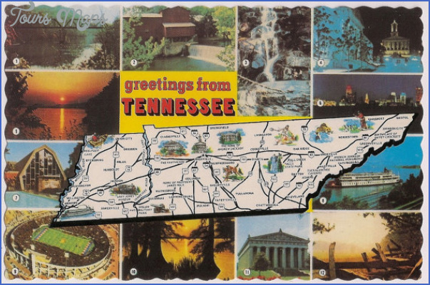 tennessee map tourist attractions 6 Tennessee Map Tourist Attractions
