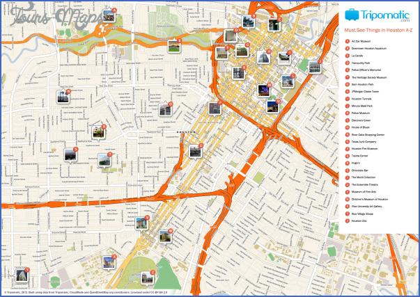 Texas Map Tourist Attractions Toursmaps Com