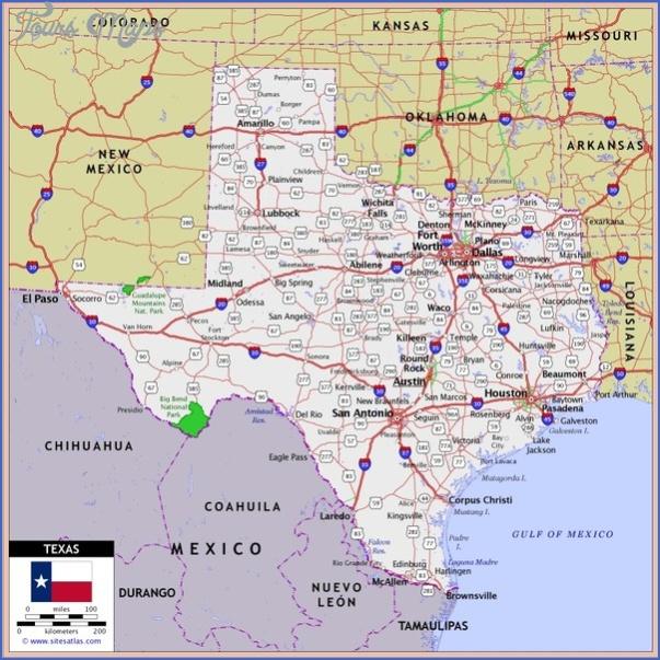 texas map 1 Texas Map