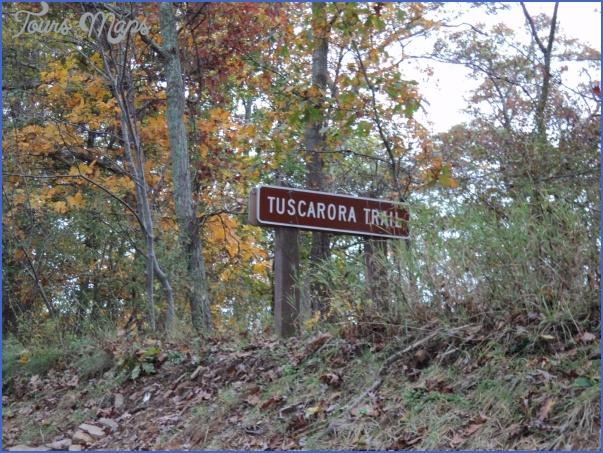 tuscarora trail map pennsylvania 6 TUSCARORA TRAIL MAP PENNSYLVANIA