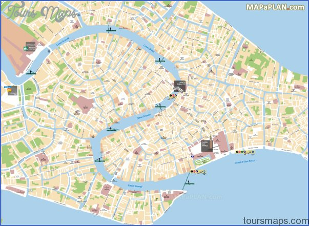 venice map tourist attractions 4 Venice Map Tourist Attractions