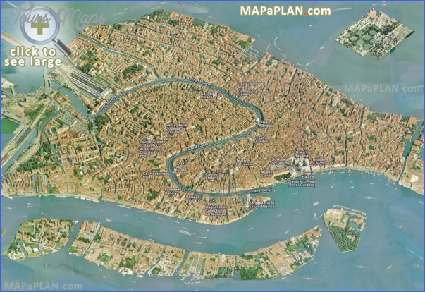 venice map tourist attractions 7 Venice Map Tourist Attractions