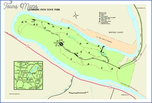 warrior trail map pennsylvania 4 WARRIOR TRAIL MAP PENNSYLVANIA