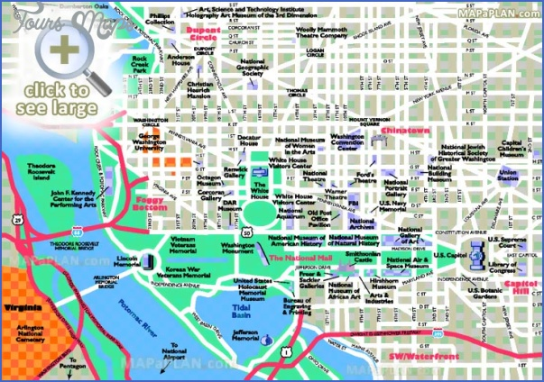 washington map tourist attractions 2 Washington Map Tourist Attractions