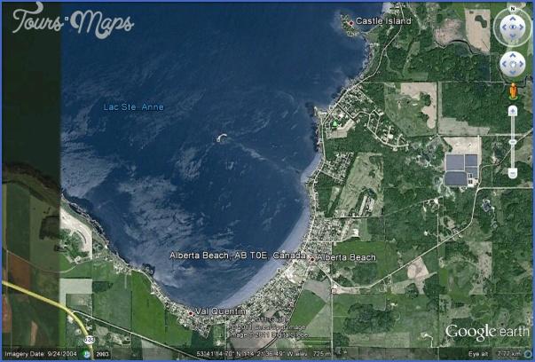 alberta beach on lac ste anne map edmonton 1 ALBERTA BEACH ON LAC STE. ANNE MAP EDMONTON