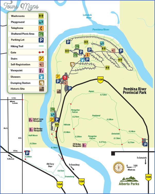 pembina river provincial park map edmonton 13 PEMBINA RIVER PROVINCIAL PARK MAP EDMONTON