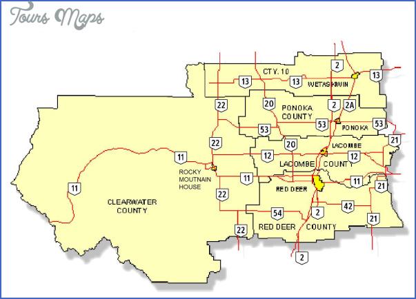 red deer map edmonton 5 RED DEER MAP EDMONTON