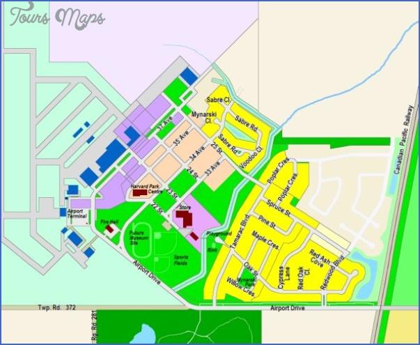 waskasoo park map edmonton 6 Waskasoo Park Map Edmonton