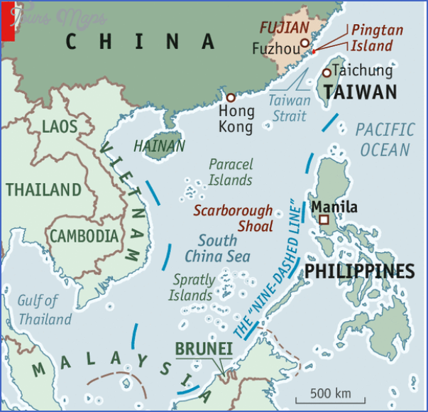 20120519 cnm952 South China Sea Map