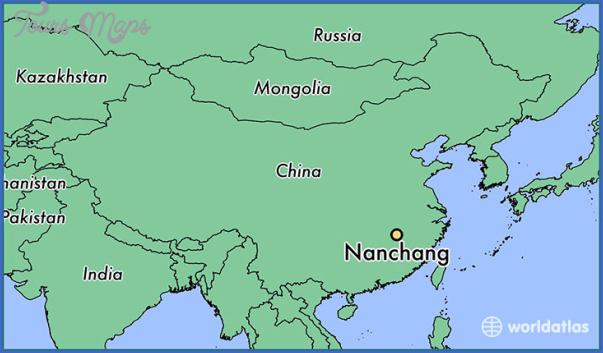 3310 nanchang locator map Nanchang Map