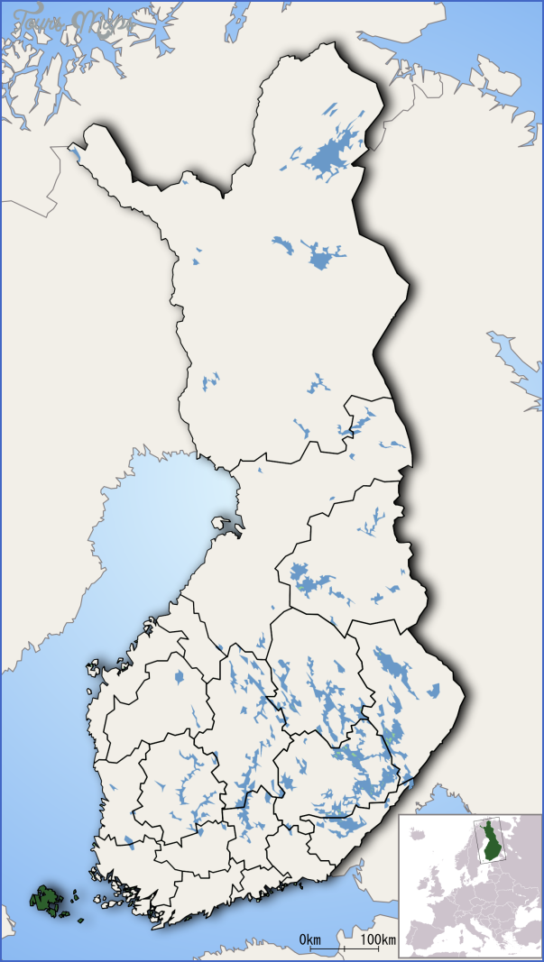 aland islands ahvenanmaa map 16 Aland Islands Ahvenanmaa Map