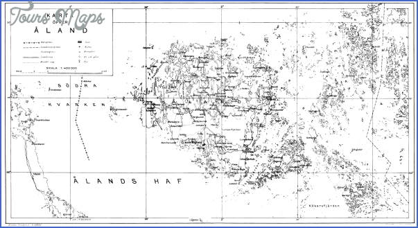 aland islands ahvenanmaa map 8 Aland Islands Ahvenanmaa Map