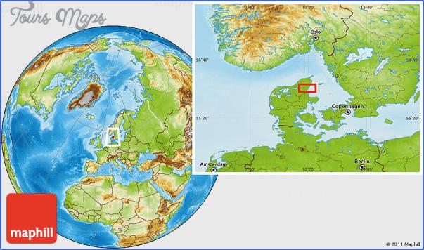 alborgaalborg map 10 AlborgAalborg Map