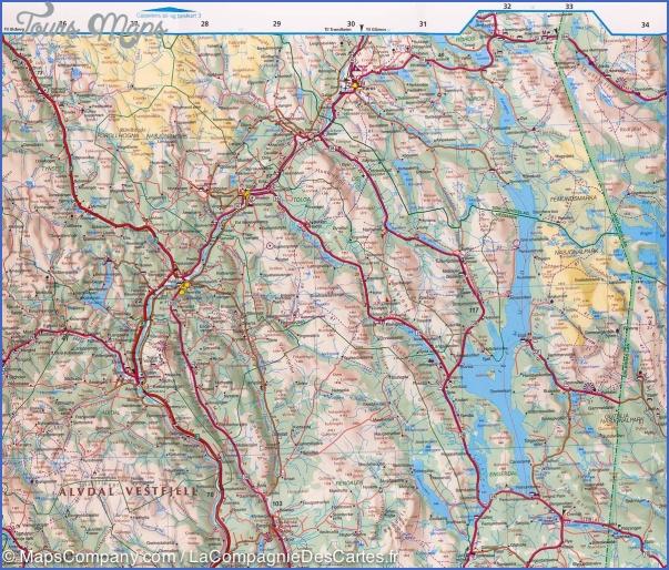 alesund norway central map 1 Alesund Norway Central Map