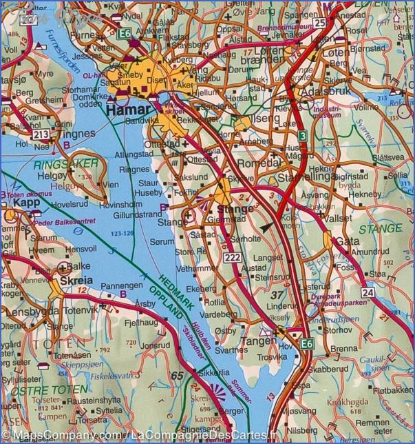 alesund norway central map 2 Alesund Norway Central Map