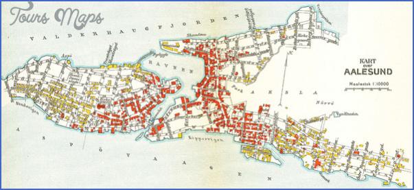 alesund norway central map 5 Alesund Norway Central Map