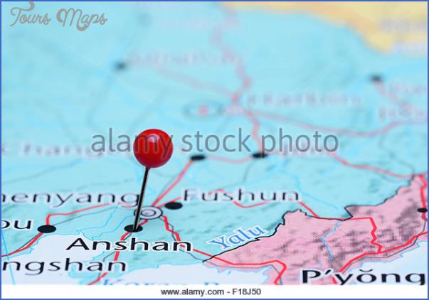 anshan map 9 Anshan Map
