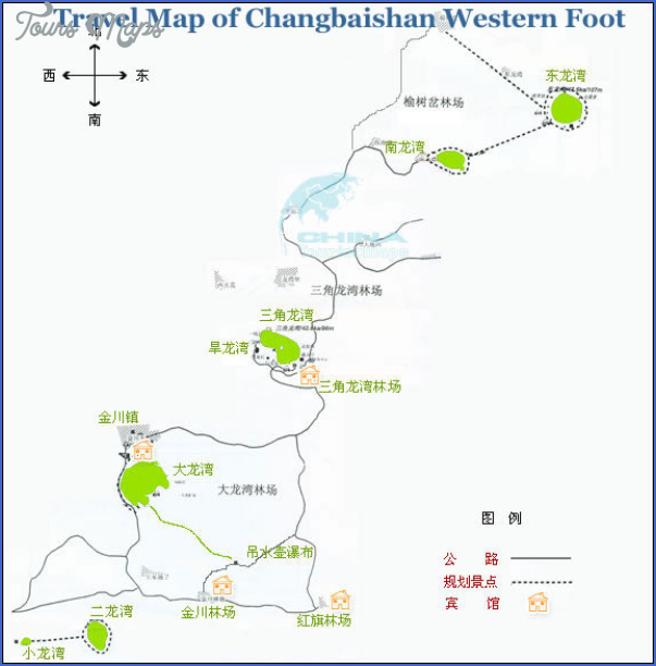 changbaishan map 0 Changbaishan Map
