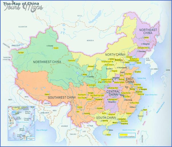 china map for travel 9 China map for travel