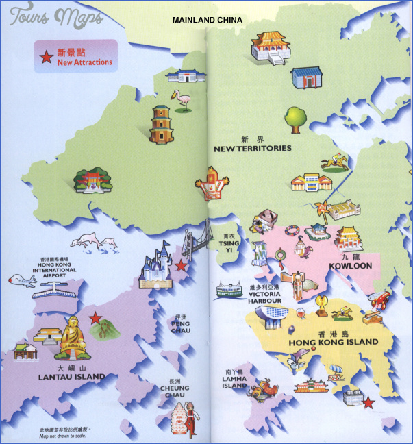 china tourist attractions map 1 China tourist attractions map