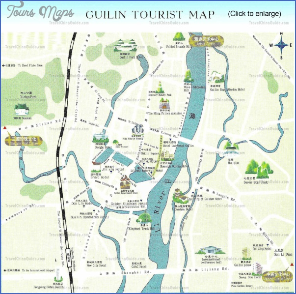 china tourist attractions map 11 China tourist attractions map