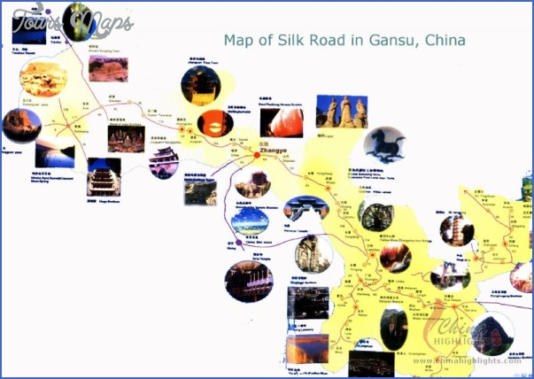 china tourist attractions map 12 China tourist attractions map