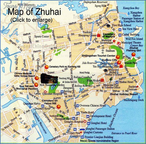 china tourist attractions map 15 China tourist attractions map