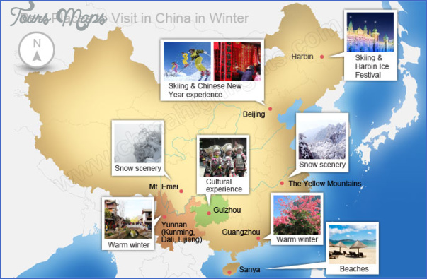 china tourist attractions map 3 China tourist attractions map