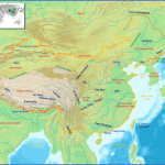 china geography rivers map 150x150 China Topography