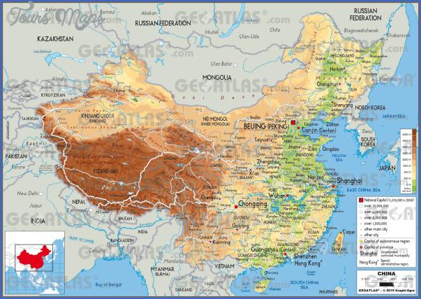 china phy China travel map pdf