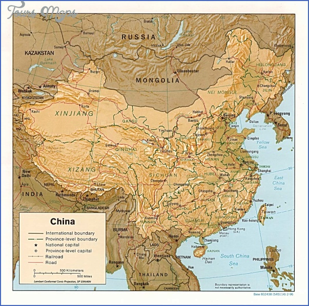 china rel96 China Topography