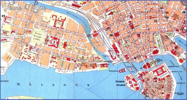 cohrs 1 1 Stockholm Map Tourist Attractions