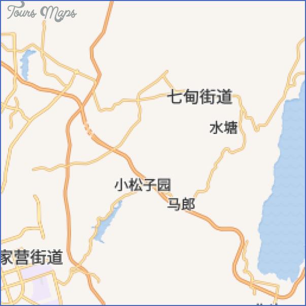 daguan lou gongyuan park map 16 Daguan Lou Gongyuan Park Map