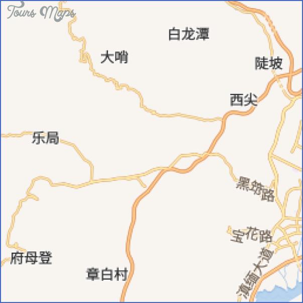 daguan lou gongyuan park map 8 Daguan Lou Gongyuan Park Map