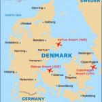 denmark country map 150x150 Denmark Map Tourist Attractions