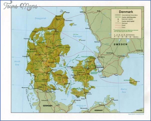 denmark rel99 Denmark Map