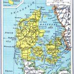 detailed old road map of denmark 1941 150x150 Denmark Map