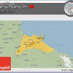 free fancy savanna style 3d map of lianyungang shi 150x150 Lianyungang Map