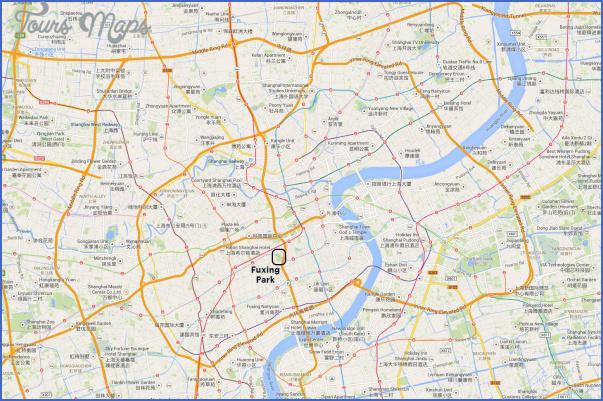 fuxing gongyuan park map 21 Fuxing Gongyuan Park Map
